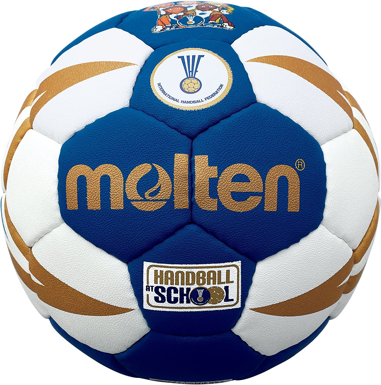 MOLTEN IHF Approved Club/School - Pelota de Balonmano, Color Azul ...