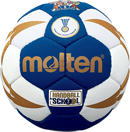 MOLTEN Approved Club/School IHF-Balón de Balonmano, Color Blanco ...