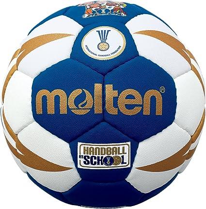 MOLTEN IHF Approved Club/School - Pelota de Balonmano, Color Azul ...