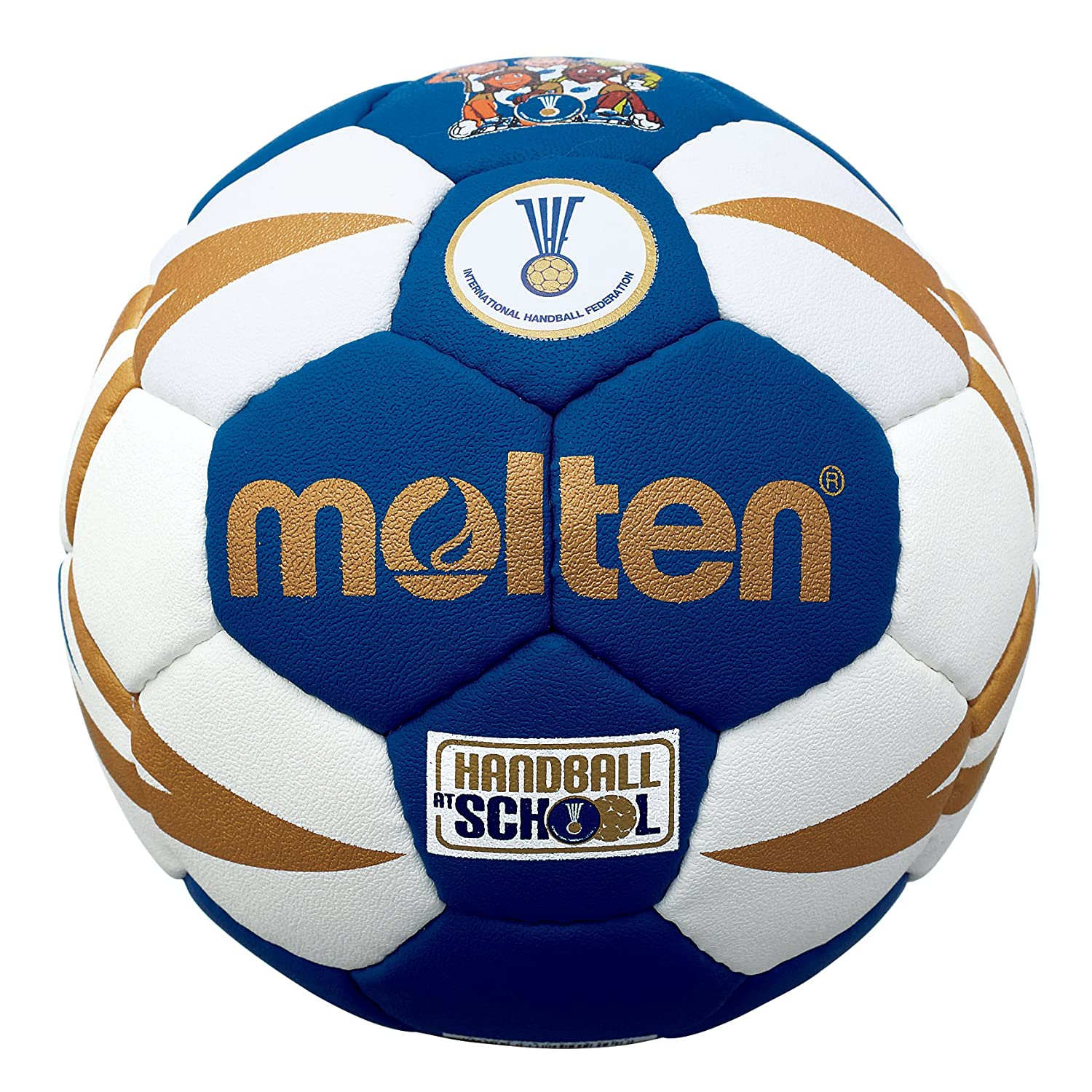 MOLTEN IHF Approved Club/School - Pelota de Balonmano, Color