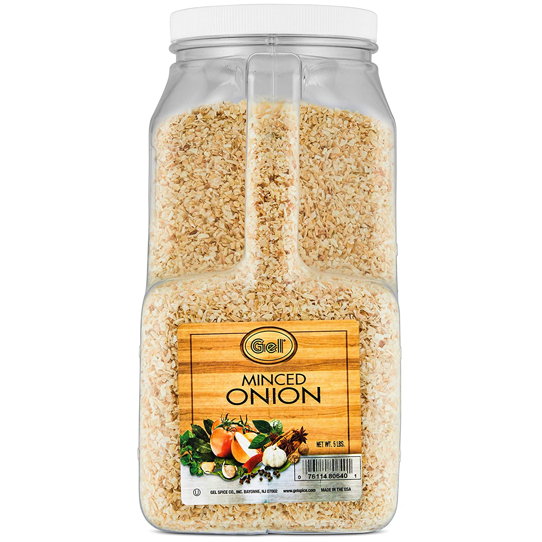 Gel Spice Minced Onion 5 Lb   Food Service Size