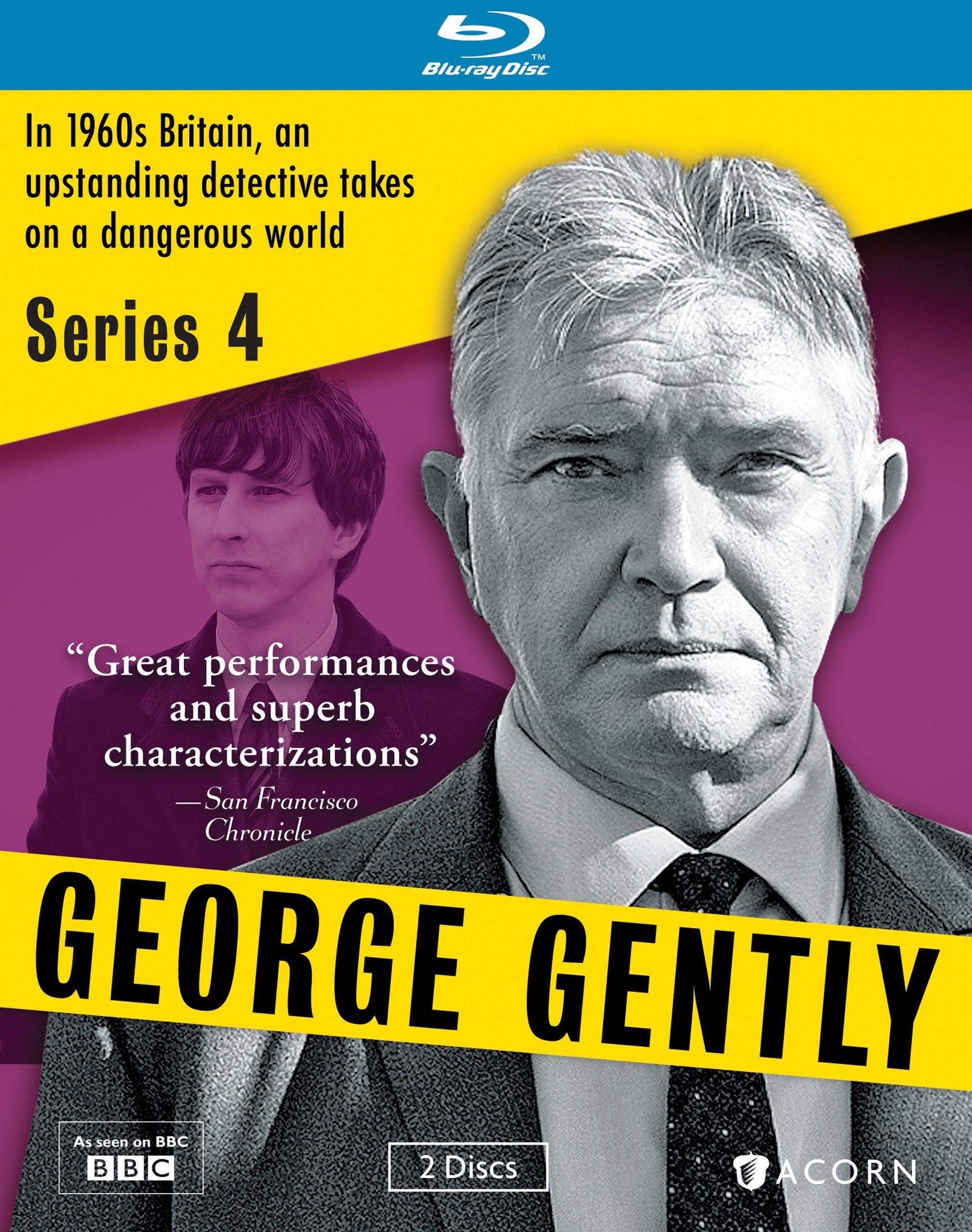 Blu-ray : George Gently, Series 4 (Blu-ray)