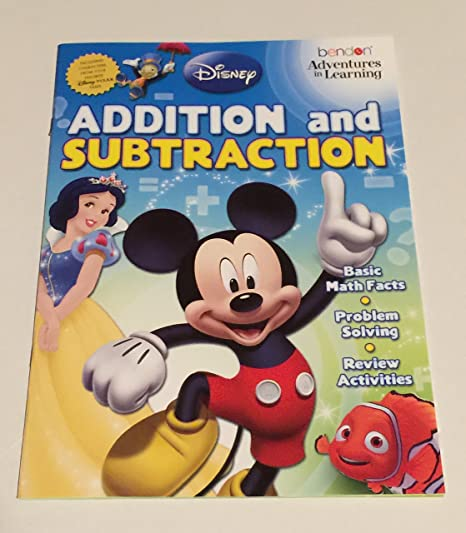 Amazon.com: Disney Adventures in Learning Activity Book Set: Toys ...