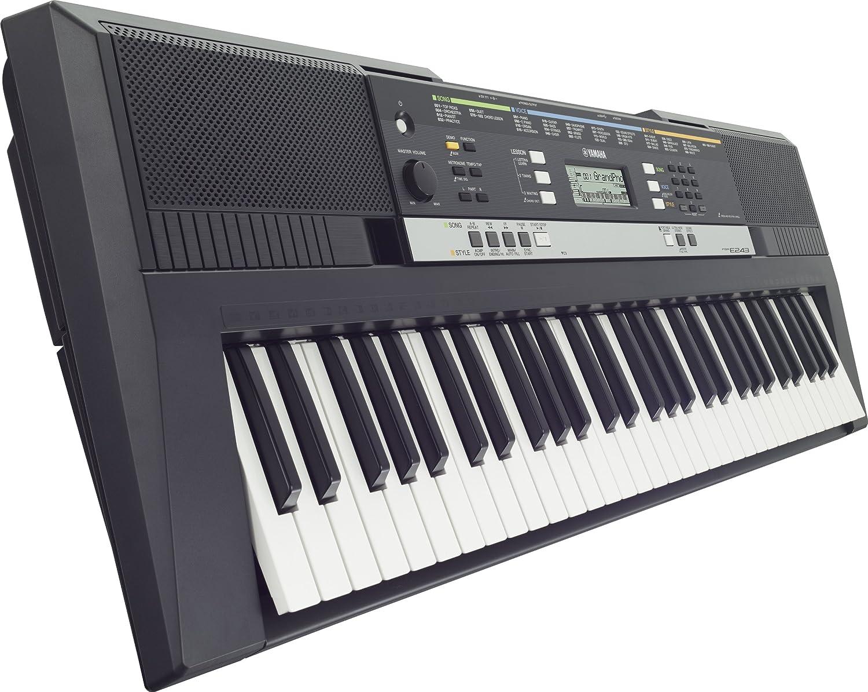 Yamaha PSR-E243 - Teclado electrónico (8W, 94,5 cm, 34,7 cm, 11,7 cm): Amazon.es: Electrónica
