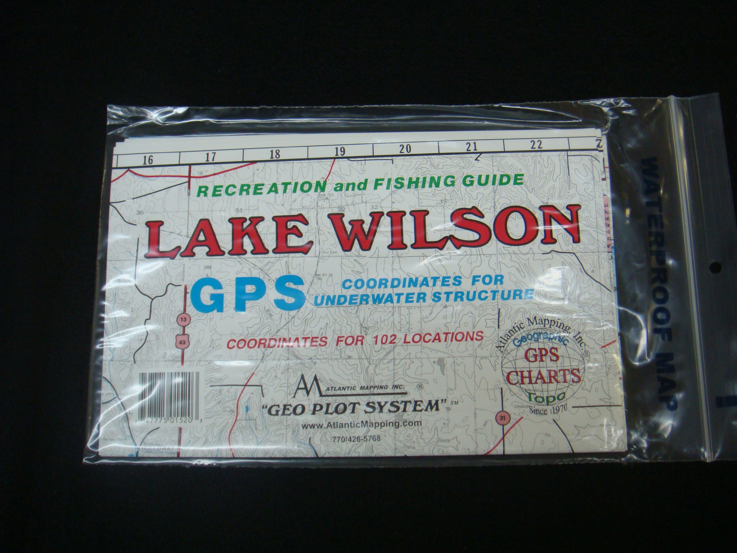 Lake Wilson, Alabama GPS CHARTS AND ABOVE WATER AND UNDERWATER TOPOGRAPHY.