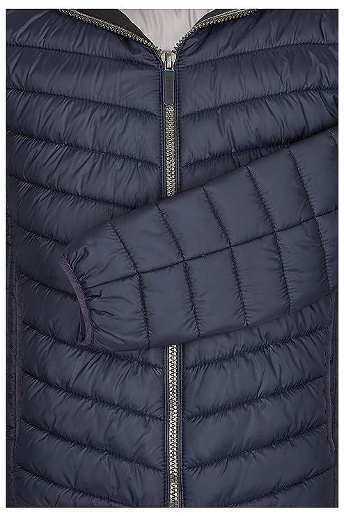 03e4d6bb0047 Michaelax-Fashion-Trade Calamar - Leichte Herren Steppjacke in Dunkelblau  oder Schwarz (6Y05), Größe 5XL, Farbe Blau (48)  Amazon.de  Bekleidung
