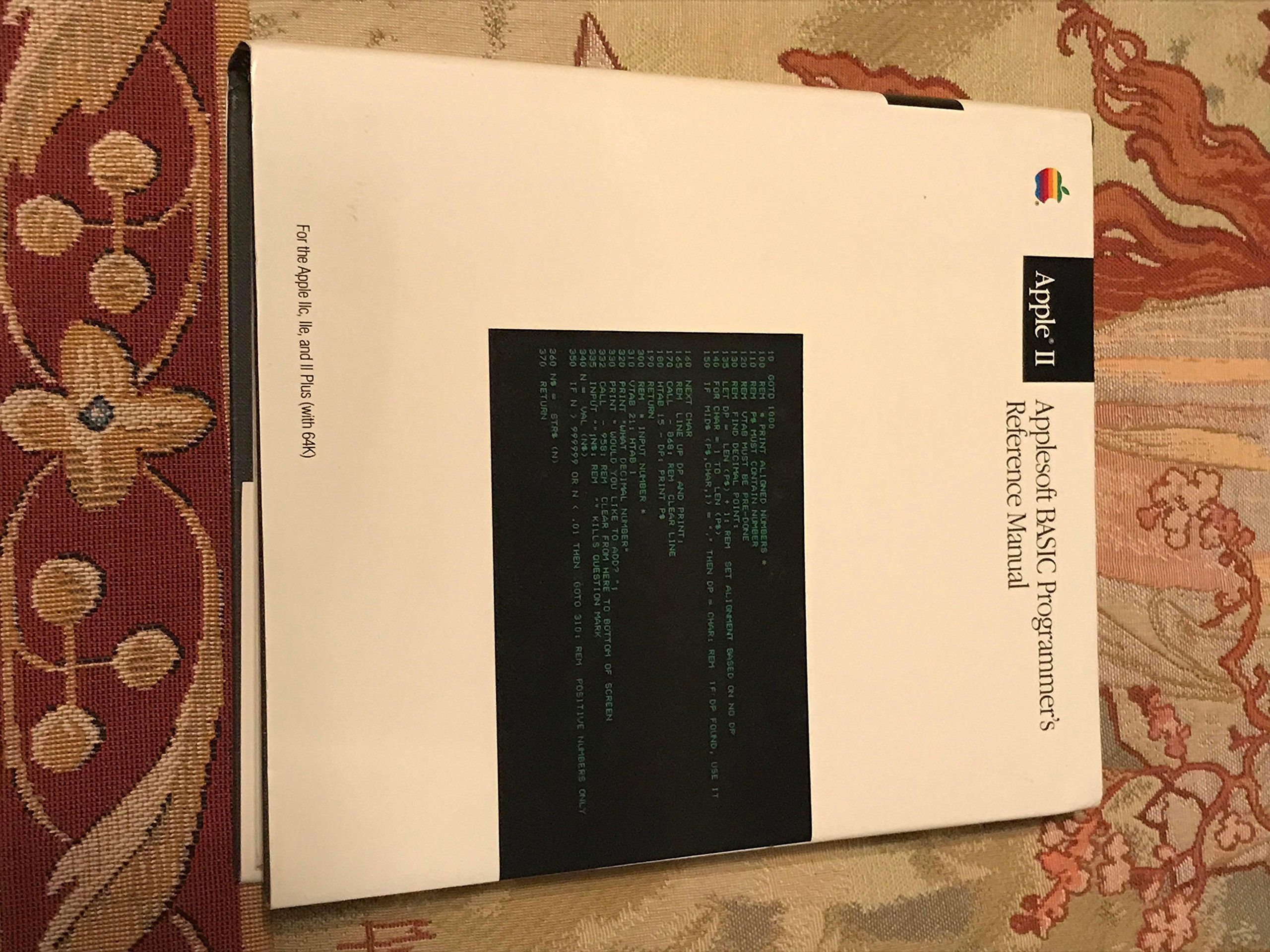 The Applesoft Basic Programmer's Reference Manual