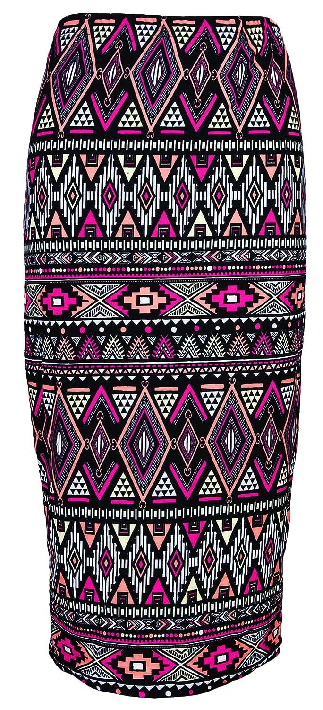 VSVO Women's Printed Pencil Skirt