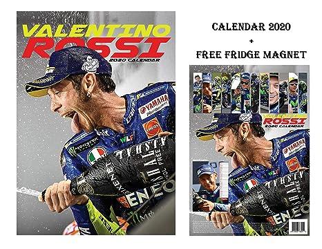 Calendario Valentino Rossi 2020.Valentino Rossi Calendario 2020 Valentino Rossi