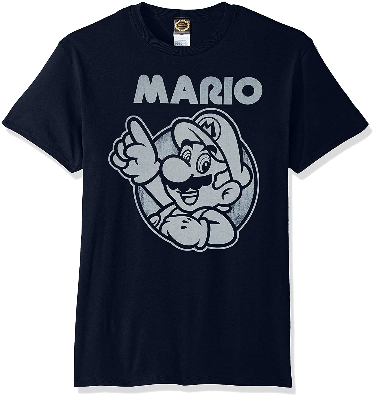 55c563de Amazon.com: Nintendo Men's So Mario T-Shirt: Clothing