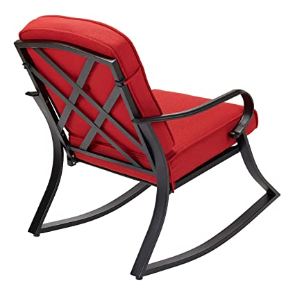 Prime Amazon Com Outdoor Patio Rocker Porch Rocking Chair Ibusinesslaw Wood Chair Design Ideas Ibusinesslaworg