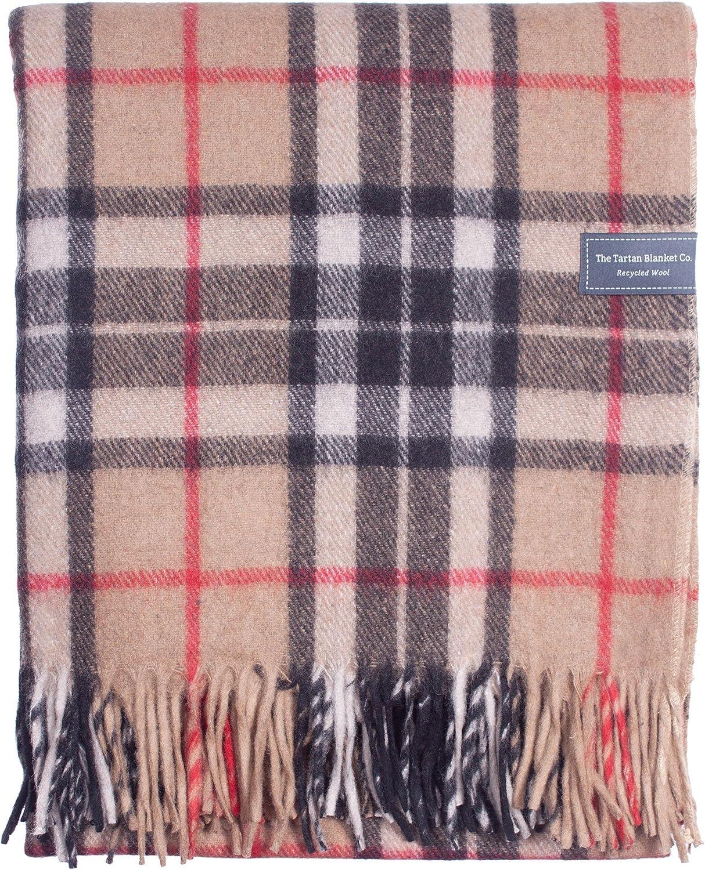 Tartan Tweeds Tapis 100 /% laine /Érable fonc/é Taille unique