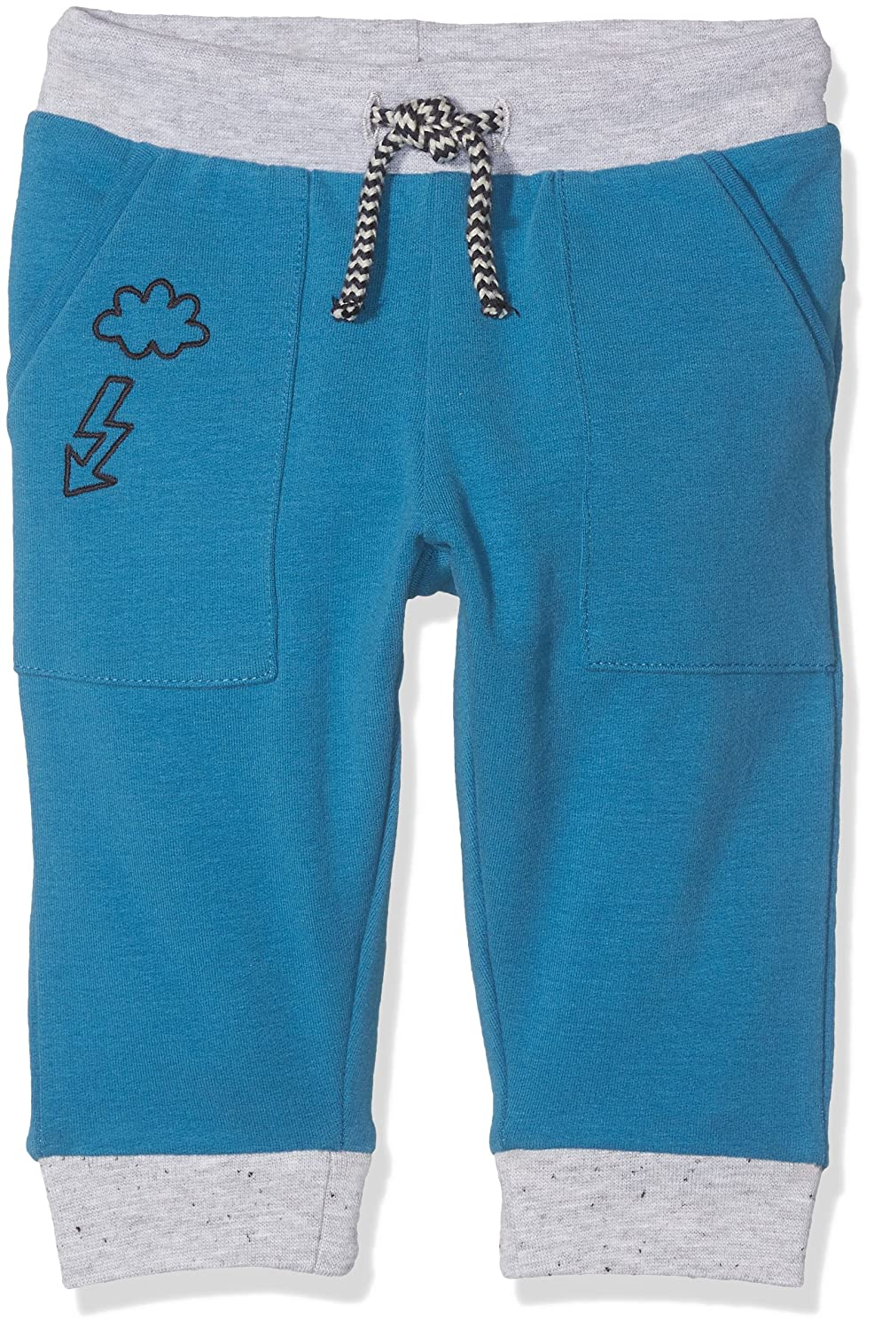 Tom Tailor Cosy Solid Sweat Pant, Pantaloni Sportivi Bimbo Blu (Blue Petrol 6086) 68 TOM TAILOR Kids 68292080022