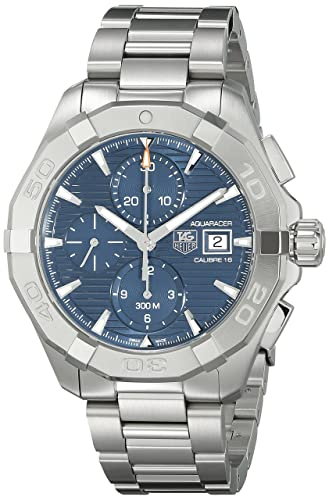 TAG Heuer de hombre cay2112. ba0925 300 Aquaracer Azul Dial Acero inoxidable reloj: TAG Heuer: Amazon.es: Relojes