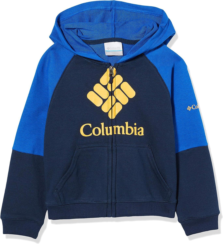 Columbia Jungen Pullover aus French Terry mit durchgehendem Rei/ßverschluss Modell