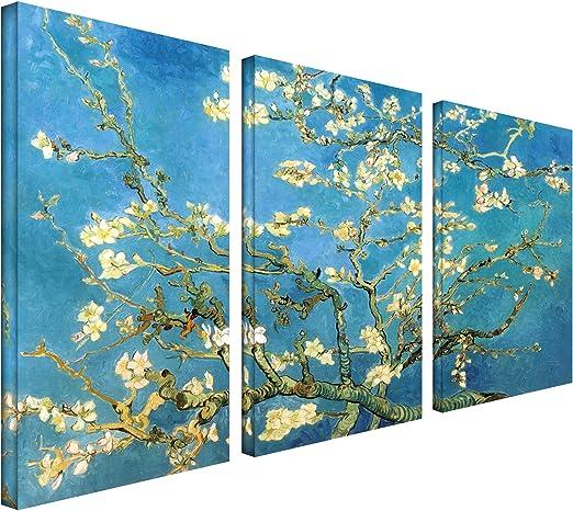 Vincent Van Gogh Almond Blossom Large Canvas Art Print