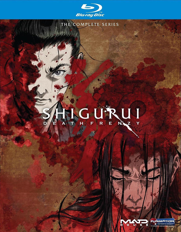 Amazon.com: Shigurui: Death Frenzy Complete Box Set [Blu-ray ...