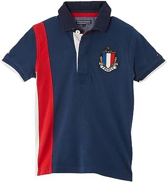Tommy Hilfiger France Polo - Polo para niño, Talla 10 años (10 ...