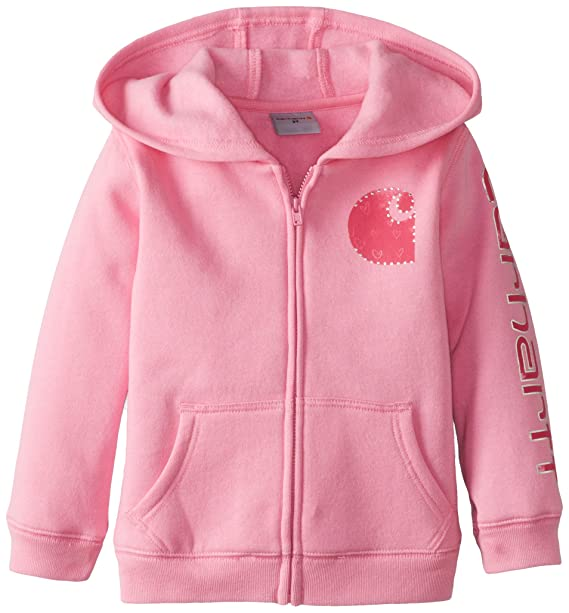 Amazon.com: Carhartt Little Girls chaqueta de forro polar ...