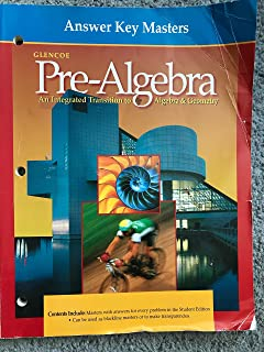Pre algebra homework practice workbook merrill pre algebra answer key masters glencoe pre algebra glencoe pre algebra fandeluxe Images