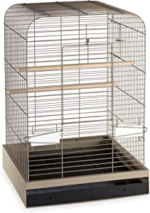 Prevue Hendryx 124PUT Pet Products Madison Bird Cage, Putty,5/8