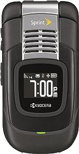 Kyocera Duracore E4210, Black Sprint Flip Phone