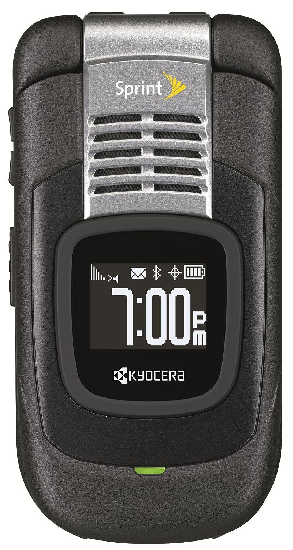 amazon com kyocera duracore e4210 black sprint cell phones