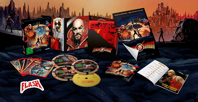 Flash Gordon - Limited Collectors Edition Blu-ray Alemania ...