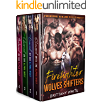 Firefighter Wolves Shifters (A Paranormal Romance Complete Series Boxset)