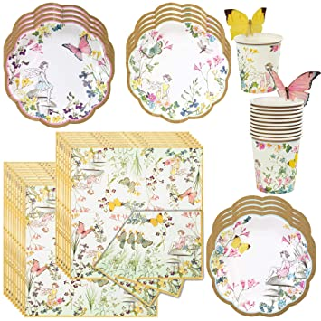 Amazon.com: Talking Tables Truly Fairy Party – Bundle ...