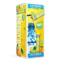 Zipfizz Healthy Energy Drink Mix, Hydration with B12 and Multi Vitamins, Citrus,...