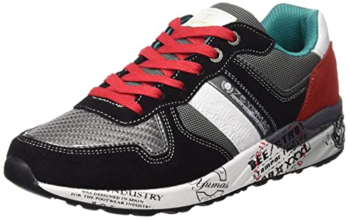 Yumas Udine - Zapatos para Hombre, Color Negro, Talla 42