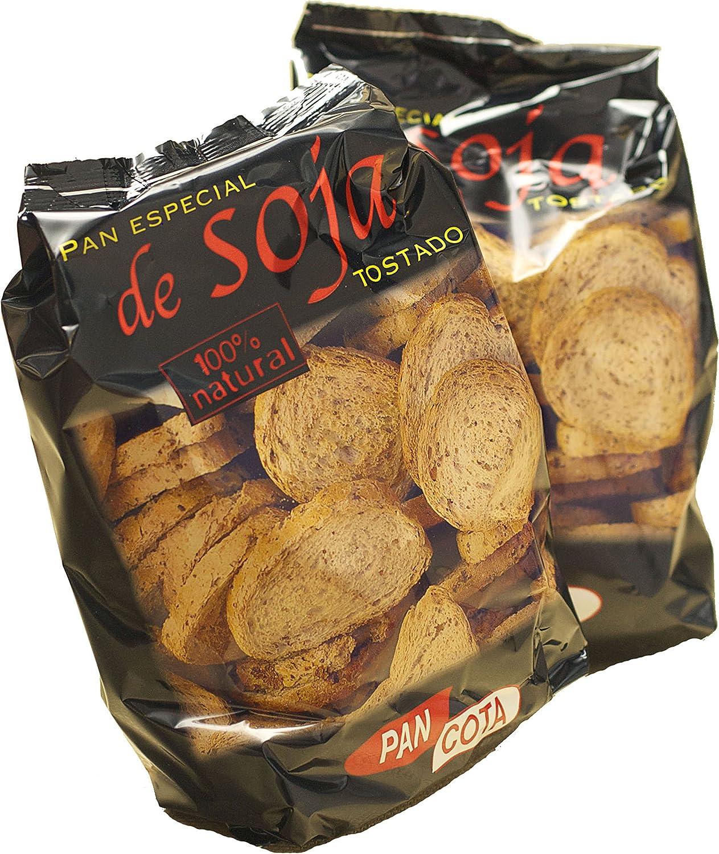 Pan Especial De Soja Tostado De Pan Cota Caja Con14 Bolsas Amazon Es Alimentación Y Bebidas