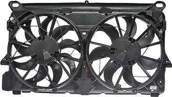 Amazon Com Dorman 620 566 Radiator Dual Fan Assembly Without Controller Automotive