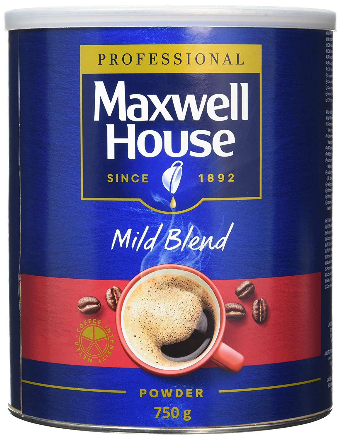 Maxwell House Mild Coffee Powder Tin 750 G Pack Of 1