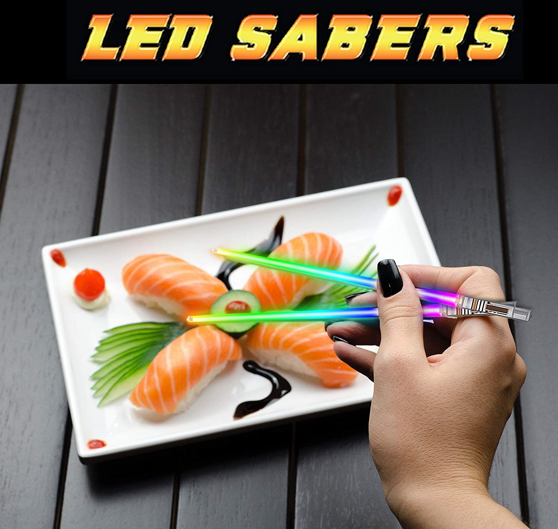 Amazon.com: Palillos de luz LED de Star Wars, reutilizables ...
