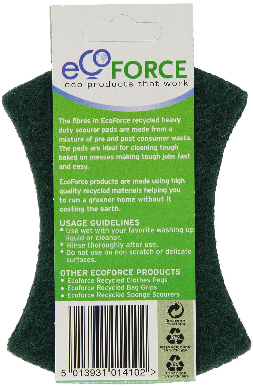 Pack de 10 Ecoforce Reciclado Heavy Duty estropajos