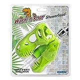 Barbuzzo Wash n' Roar T-Rex Shower Head, Green