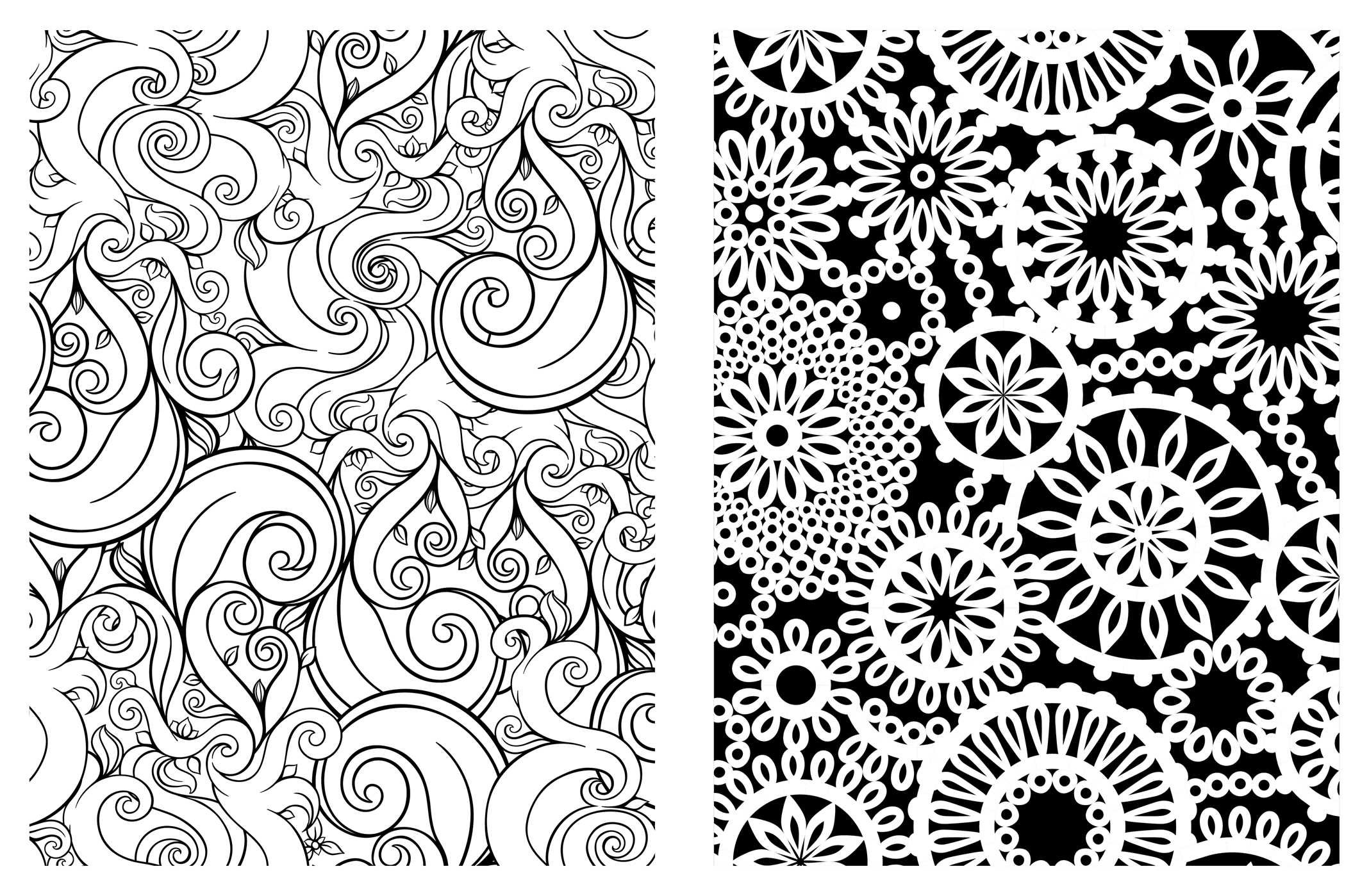 amazon com posh coloring book pretty designs for fun