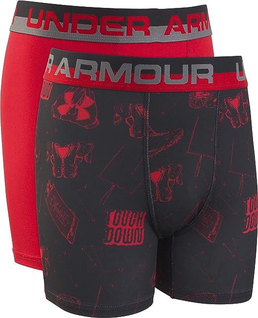 Under Armour Boys 2 Pack Performance Boxer Briefs Boxer Briefs