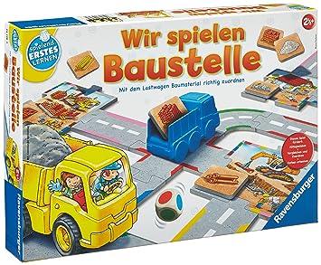 Ravensburger 24726 - Wir spielen Baustelle: Amazon.de: Spielzeug