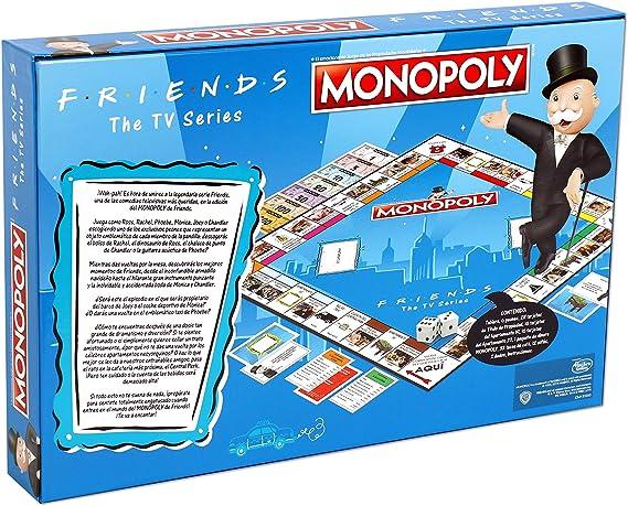 ELEVEN FORCE Monopoly Friends, multicolor, Talla Única (12135 ...