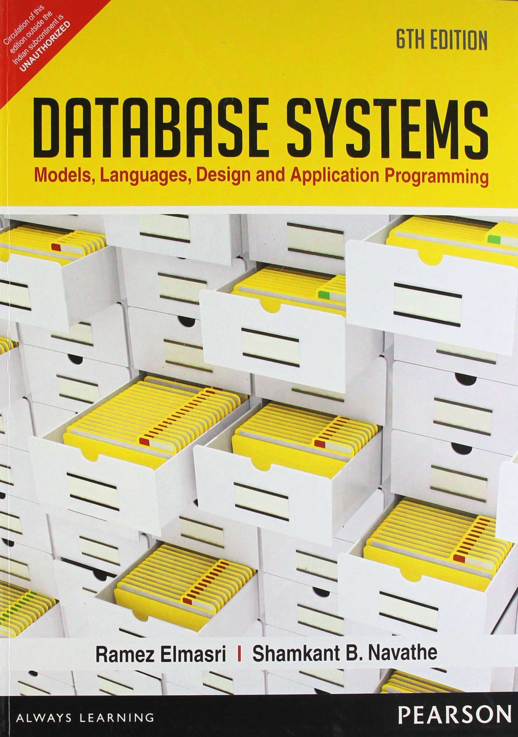 Fundamentals Of Database Systems Navathe Ebook