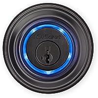 Kwikset Kevo (2nd Gen) Touch-to-Open Bluetooth Smart Lock, Compatible with Alexa via Kevo Plus, in Venetian Bronze