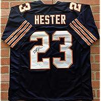 $149 » Devin Hester autographed signed jersey NFL Chicago Bears JSA COA Super Bowl