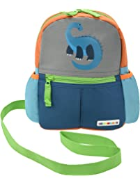 33c95b084076 Alphabetz Dino Toddler Backpack with Safety Harness Leash