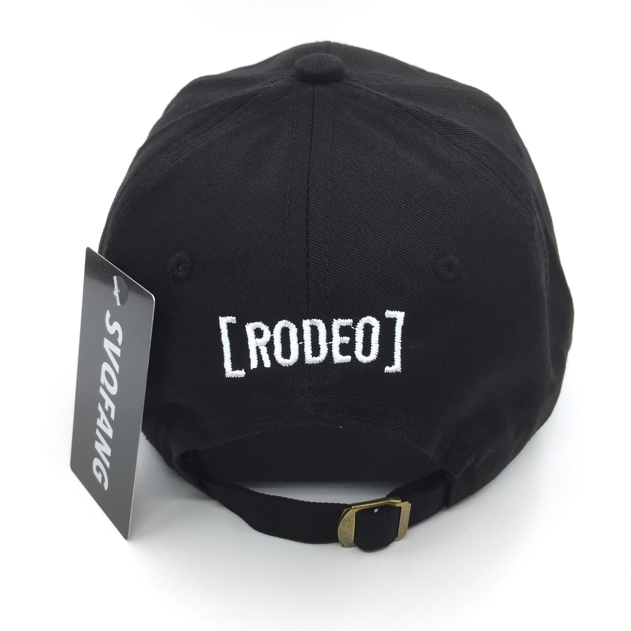 4289181684f4fd Travis Scott Rodeo Hat Cap Tour Merch Cactus Travi$ Strapback Black New:  0742920656768: Amazon.com: Books