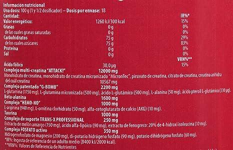 Scitec Nutrition Trans-X Professional creatina y aminoácidos Naranja de sangre 1816 g: Amazon.es: Salud y cuidado personal