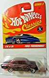 Ford Thunderbolt (Purple) 2005 Hot Wheels Classics 1:64 Scale Series 2 Die Cast Vehicle