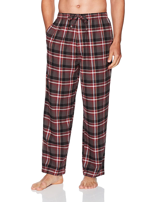 Haggar Men's Flannel Bright Plaid Lounge Pant HML7F432-R06